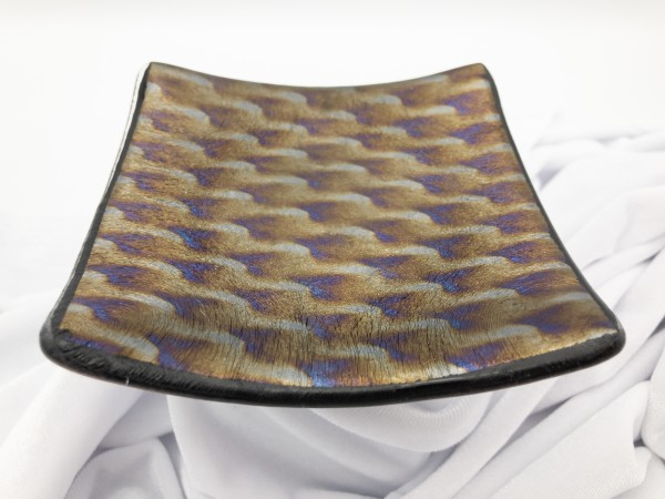 """4"""" Small Patterned Dish by Shayna Heller"""