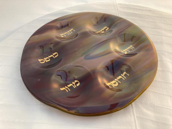 Seder Plate - Hayabasha by Shayna Heller