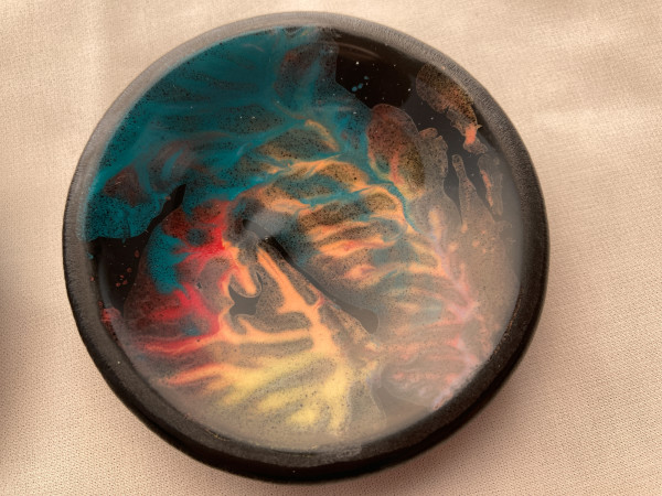 Small Dish - Painted #28 by Shayna Heller