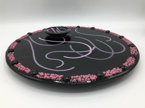 Lazy Susan with Dip Dish by Shayna Heller