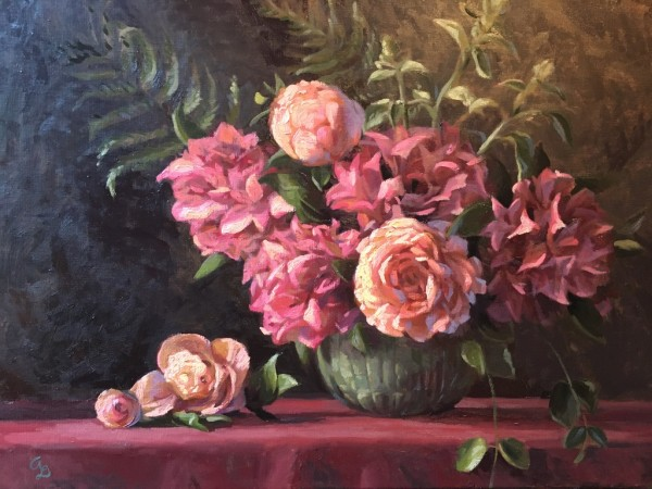 Rhodies & Peonies by Amy Lambrecht