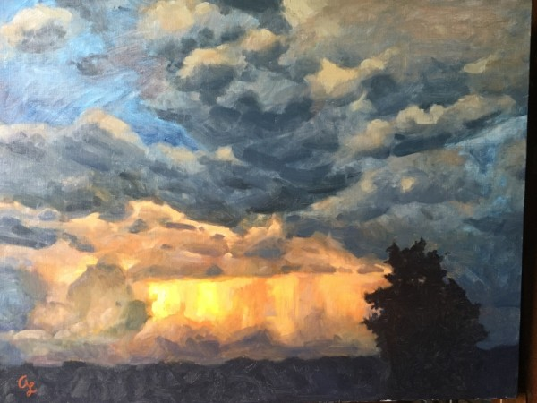 Coming With The Clouds by Amy Lambrecht