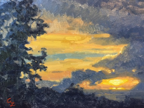 Winking Sun by Amy Lambrecht