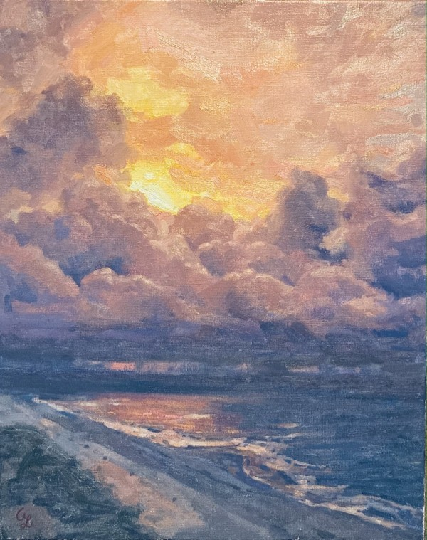 Orange Beach to Sky by Amy Lambrecht