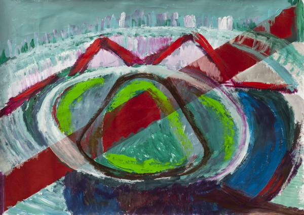 Cancha de River by Stivaletta, Mabel Rosario