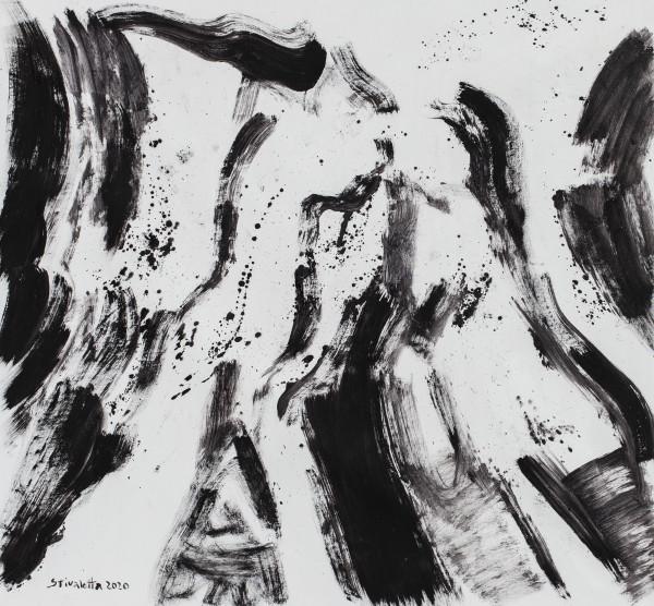 Desnudo con perrito by Stivaletta, Mabel Rosario