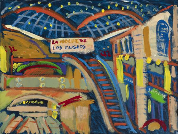 La Noche De Los Museos by Stivaletta, Mabel Rosario
