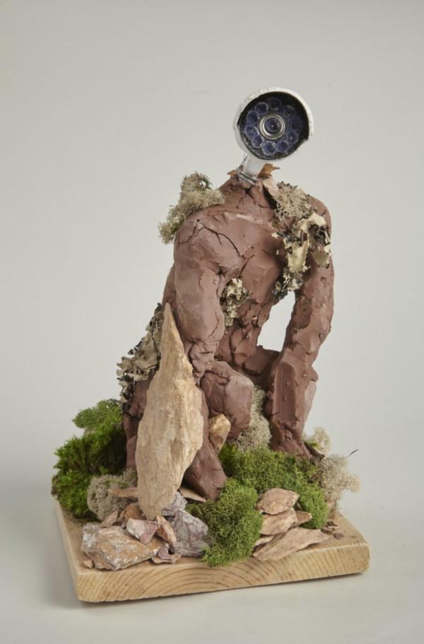 Surveillance Golem (Chava) by Chelsea Steinberg-Gay