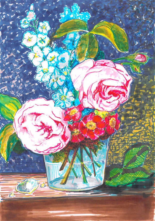 Spectrum roses by Eima BLANK