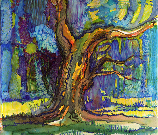 Tree of Diderot by Eima BLANK