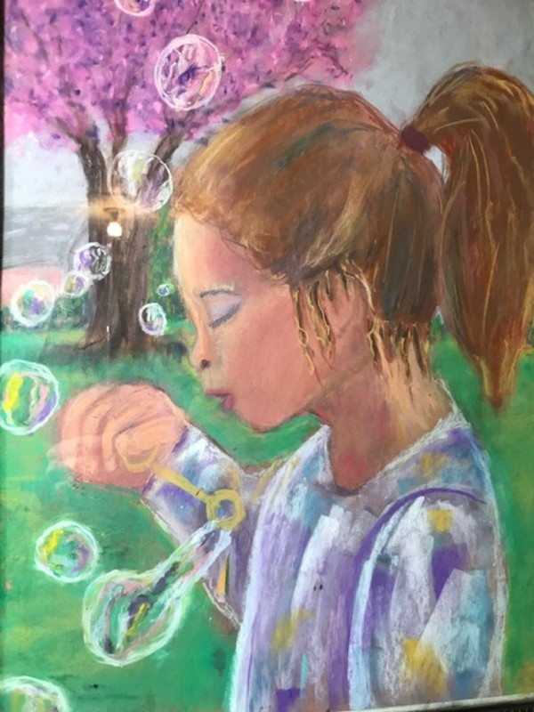 Girl With The Bubbles