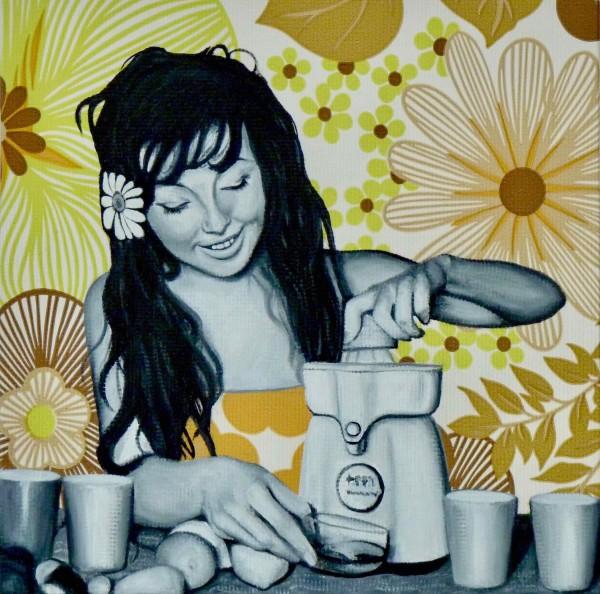 Jenny Juicing by Kristina Kanders