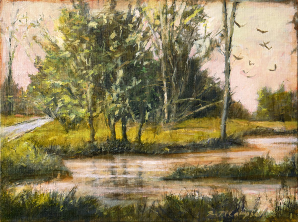 A Stand of Trees and A Prayer by Rachael McCampbell