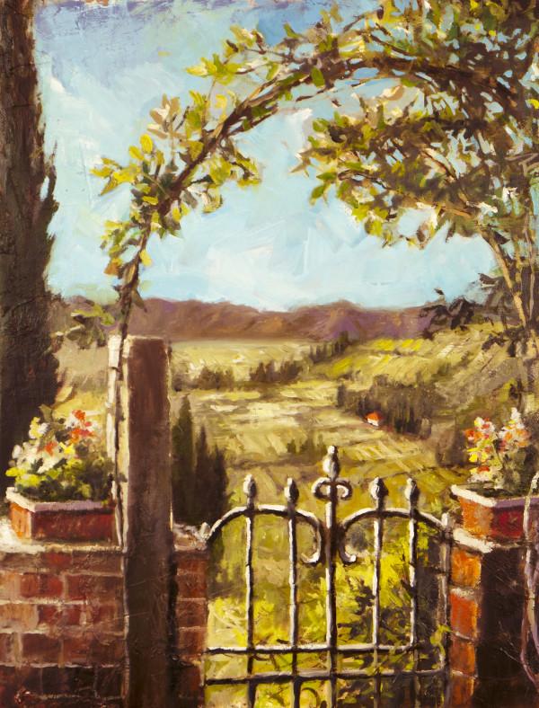 A Tuscan Gate by Rachael McCampbell