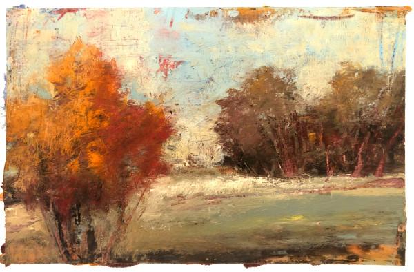 A Cold Wax Medium Study by Rachael McCampbell
