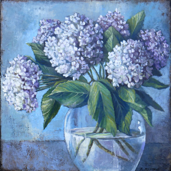 Hydrangea Love by Rachael McCampbell