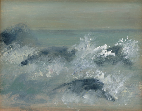 Atmospheric 2 - Rocky Shore by Heather Stivison