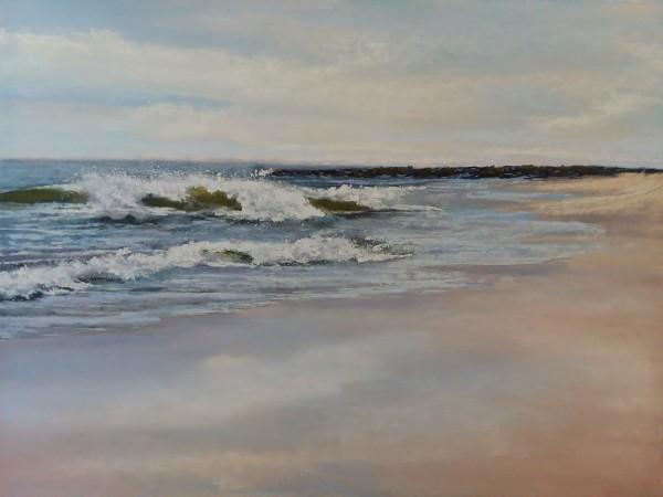 Wet Sand by Renee Leopardi
