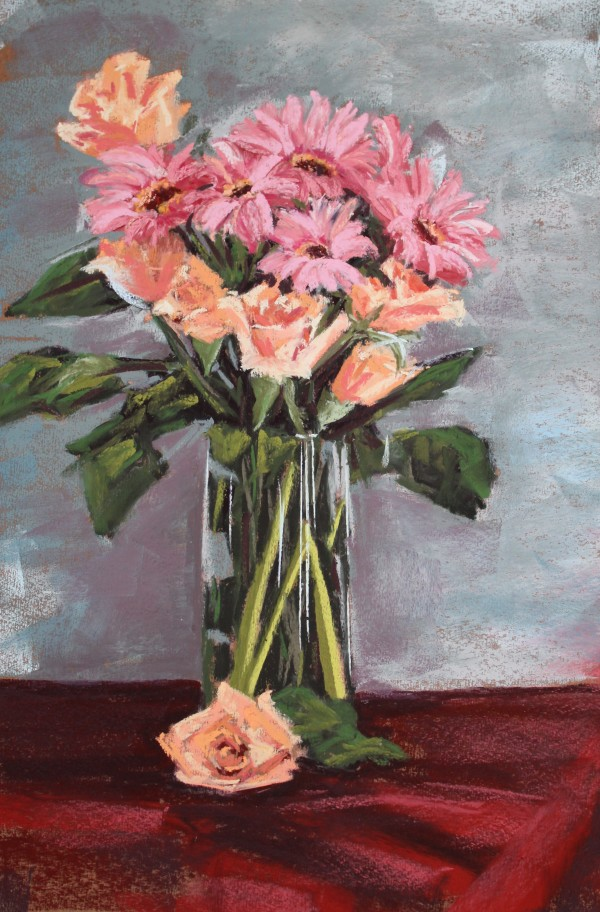Fresh Flowers #1 by Renee Leopardi