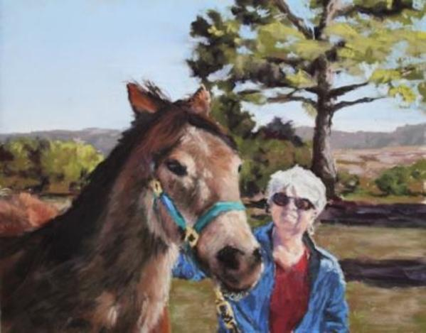 Kathy and Gus by Renee Leopardi