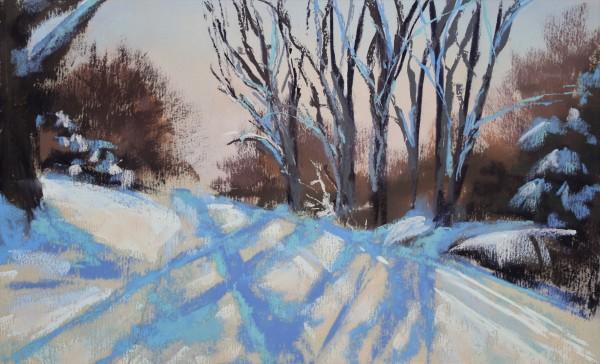 Snowy Street #2 by Renee Leopardi