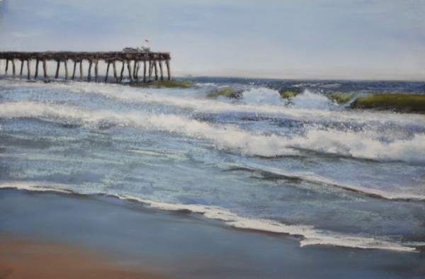 Ocean City Fishing Pier by Renee Leopardi