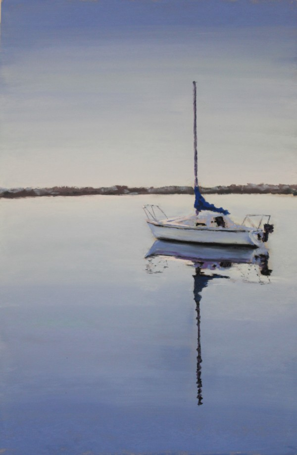 Sailing - Blue by Renee Leopardi