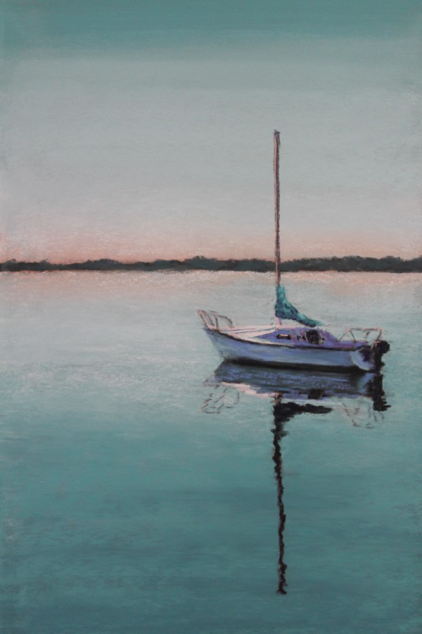 Sailing - Turquoise by Renee Leopardi