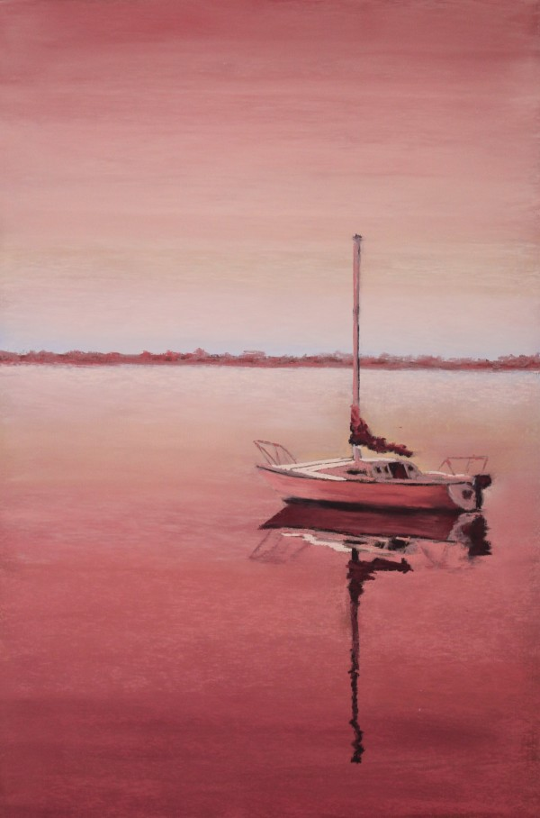 Sailing - Pink by Renee Leopardi