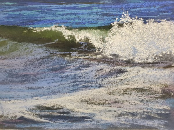 Wave Crash by Renee Leopardi
