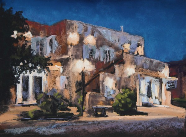 Old Town at Twilight by Renee Leopardi