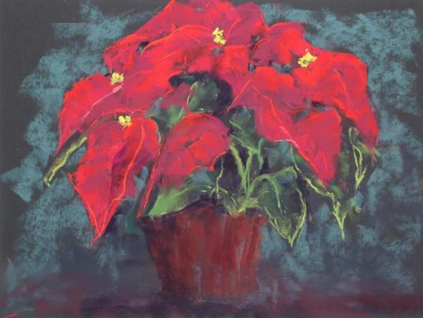 Poinsettias #2 by Renee Leopardi