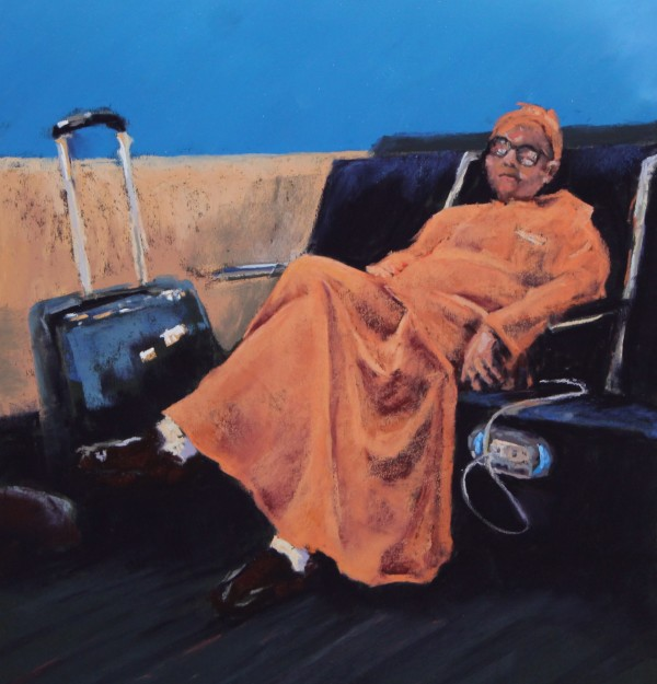 Stuck at LAX: Charging Batteries by Renee Leopardi