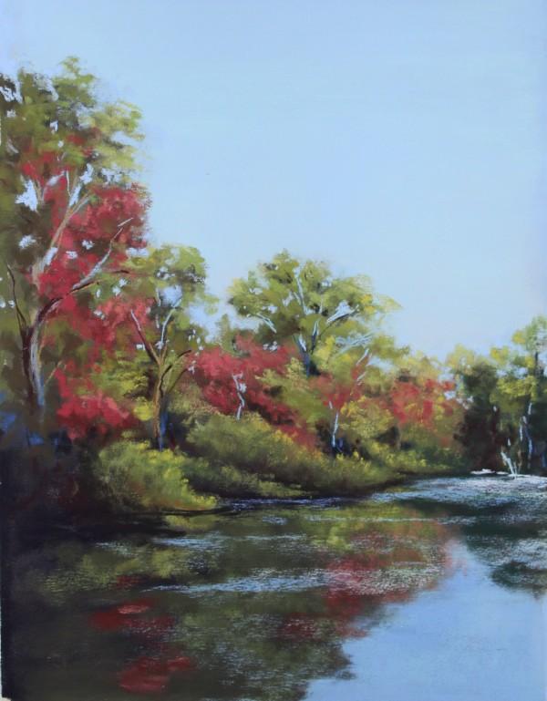 Fall Reflections by Renee Leopardi