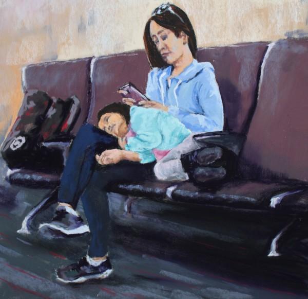 Stuck at LAX: Cuddle by Renee Leopardi