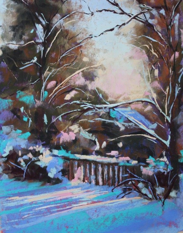 Colorful Snow by Renee Leopardi