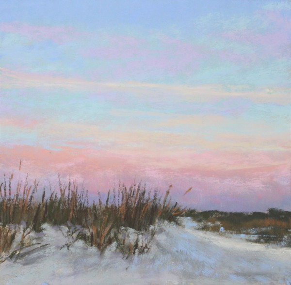 Sunset Over the Dunes by Renee Leopardi