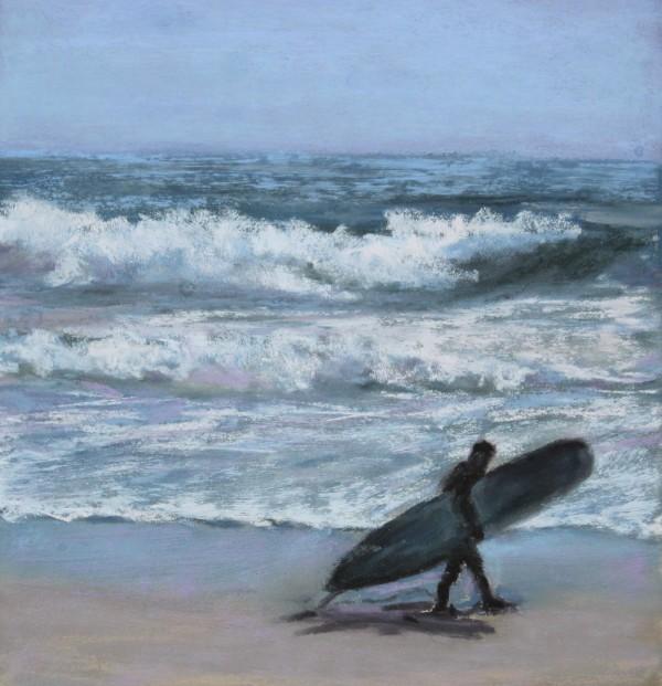 Winter Surfer by Renee Leopardi