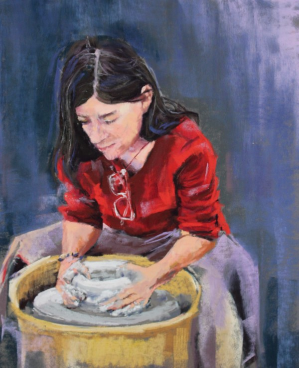 The Makers #3: Sue at the Wheel by Renee Leopardi
