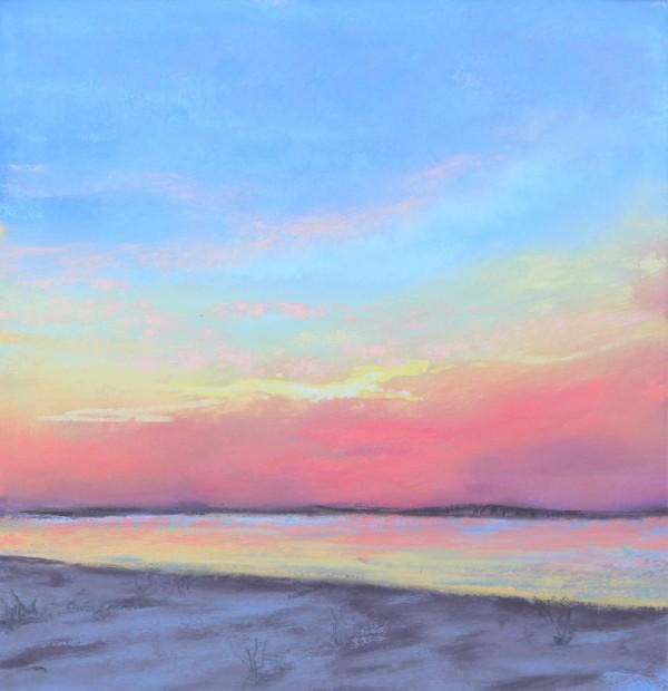 Sunset Beach by Renee Leopardi