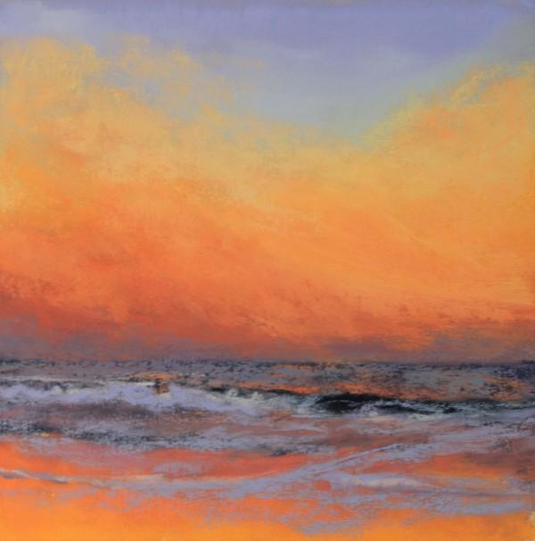 Vibrant Sunset by Renee Leopardi