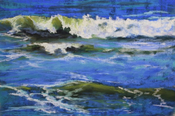 Emerald Swell by Renee Leopardi