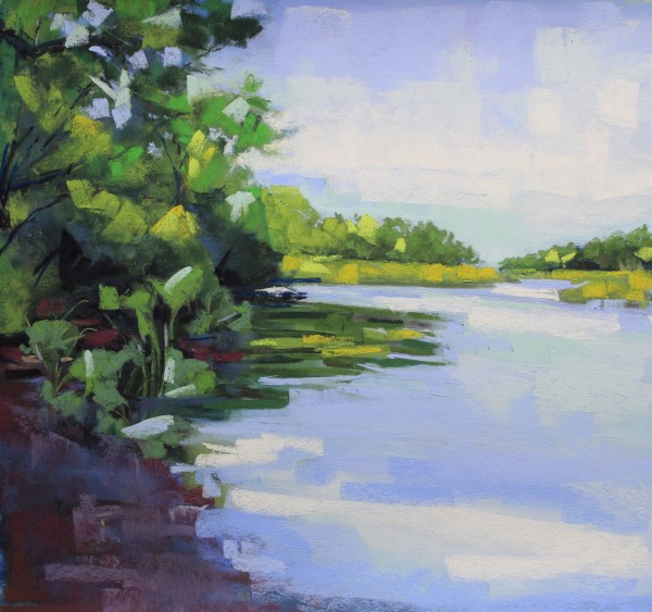 River Bank by Renee Leopardi