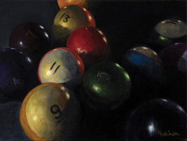 13 Ball in the Corner Pocket by Randy Robinson