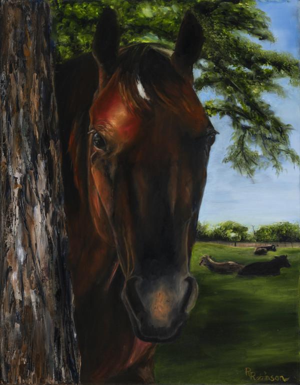 Ashley's Horse by Randy Robinson