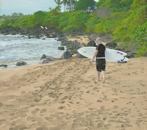 East Side last look back, Kauai by Kalani Largusa