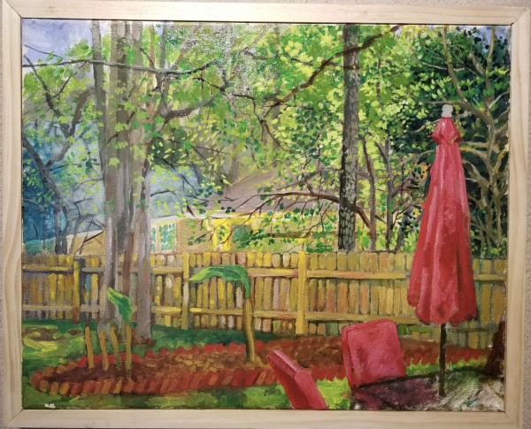 Red Umbrella by Joe Roache