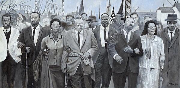 Peaceful March by Joe Roache