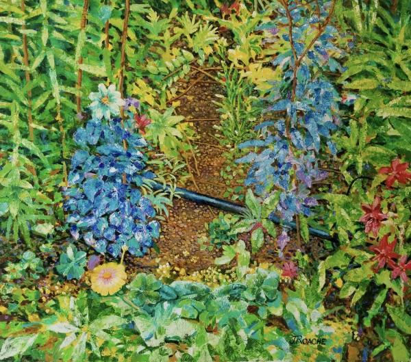 Garden at Giverny by Joe Roache