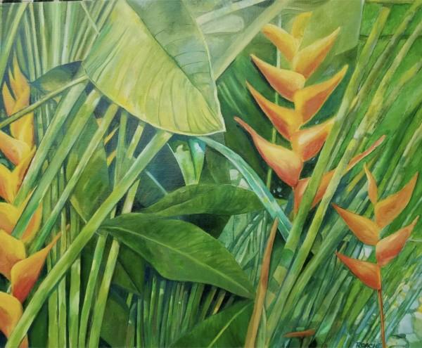 Yellow Tropical by Joe Roache